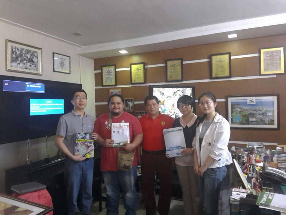 cliente de 20160316 Filipinas de la visita (5)